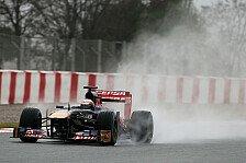 Formel 1 - Zum Gl�ck Regen und kein Schnee: Vergne �berrascht als Dritter