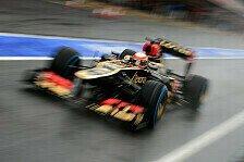 Formel 1 - Einige vielversprechende Anzeichen: Romain Grosjean