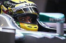 Formel 1 - Mit Freifahrtschein & ohne Wunder: Hamilton: Den Druck haben andere