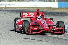 IndyCar - Wer folgt auf Franchitti?: Ganassi vor Fahrer-Entscheidung