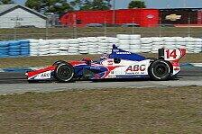 IndyCar - Power & Hinchcliffe auf den Pl�tzen: Sato Schnellster im Abschlusstraining