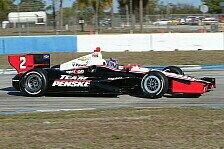 IndyCar - Alles passiert viel schneller: Ovaltest: Allmendinger hat noch Arbeit vor sich