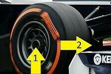 Formel 1 - Bilderserie: Barcelona I - Technik-Trends aus Barcelona in Bildern