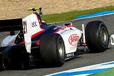 GP2 - Gut ger�stet zum ersten Rennen: Coletti mit Test-Bestzeit zum Abschluss