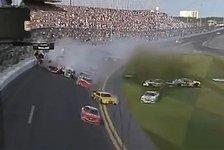 NASCAR - Zahlreiche verletzte Zuschauer: Videos - Schwerer Unfall bei Daytona-Rennen