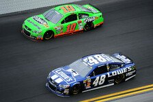 NASCAR - The show must go on: Jimmie Johnson gewinnt das Daytona 500