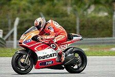 MotoGP - Dovizioso und Hayden arbeiten am R�ckstand verk�rzen: Ducati mit neuer Gewichtsverteilung