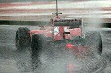Formel 1 - Vergleich stimmt optimistisch: Massa: Trotz Regen viele Erkenntnisse