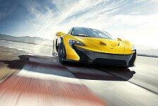 Auto - Vollgas auf der Rennstrecke: Video - McLaren P1: Stra�en-Monster mit 1.000 PS