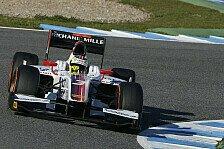 GP2 - Schnelle Schweizer: Calado f�hrt Bestzeit