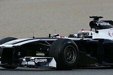 Formel 1 - Happy mit dem, was wir haben: Williams: Neues Auto ein Fortschritt zu 2012