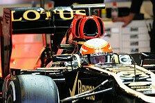 Formel 1 - Zweite Testbestzeit von Grosjean: Barcelona II: Lotus gibt den Ton an