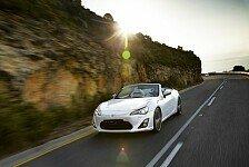 Auto - Toyota testet Reaktionen des Publikums: Weltpremiere des Toyota FT-86 Open Concept