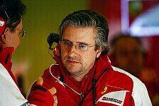 Formel 1 - Technik-Direktor nicht beim Qualifying: Ferrari: Fry muss ins Krankenhaus