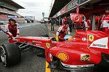 Formel 1 - Windkanal & Reglement: Ferrari: Gute Vorzeichen