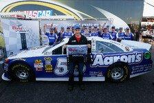 NASCAR - Danica Patrick startet nur von Rang 40: Mark Martin holt seine 56. Sprint-Cup-Pole