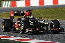 Formel 1 - Vorbereitung auf die Europasaison: Valsecchi testet f�r Lotus