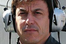 Formel 1 - Bestzeiten bedeutungslos: Wolff will Mercedes aus Peinlichkeit holen