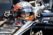 Formel 1 - Im Team gibt es keine Geheimnisse: Romain Grosjean