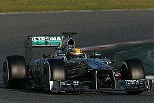 Formel 1 - Mehrere Meisterschaften mit Mercedes holen: Hamilton will in die Geschichtsb�cher