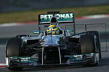 Formel 1 - Melbourne abwarten: Rosberg: Lobeshymnen auf F1 W04 noch zu fr�h