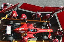 Formel 1 - Bilder: Test-Highlights: Ferrari