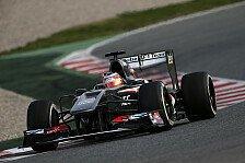 Formel 1 - Test-Highlights: Sauber
