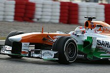 Formel 1 - Bilder: Test-Highlights: Force India