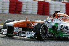 Formel 1 - Test-Highlights: Force India