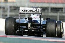 Formel 1 - Test-Highlights: Williams