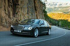 Auto - Luxus-Schiff f�r die Stra�e: Video - Der neue Bentley Flying Spur