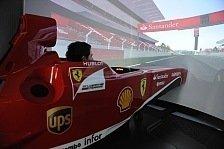 Formel 1 - Ein Gef�hl wie im Regen: Ferrari-Duo: 2014er Bolide schwer zu fahren