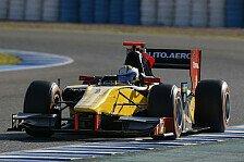 GP2 - DAMS dominiert: Ericsson holt seine erste Pole