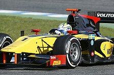 GP2 - Lokalmatador Bird auf Startplatz zwei: Ericsson trotz dem Regen mit der Pole