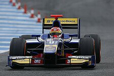 GP2 - Noch Arbeit mit der Rennabstimmung: Felipe Nasr