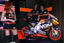 MotoGP - Sechs Fahrer in gleicher Farbe: Forward Racing pr�sentiert sich in Mailand