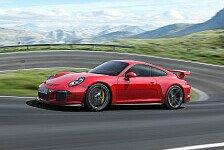 Auto - Weltpremiere auf dem Internationalen Auto-Salon in Genf: Porsche feiert 50. Jahre 911 mit dem neuen GT3