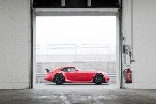 Auto - Roadshow in der Schweiz und Deutschland: Wiesmann GT MF4-CS geht auf Tour