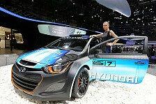 WRC - i20 WRC mit einigen Updates pr�sentiert: Hyundai: WRC-Bolide �berarbeitet