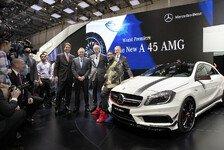 Auto - Bilder: Mercedes-Benz in Genf