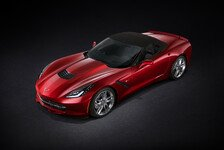 Auto - Spitzer Sportler: Video - Corvette Stingray oben ohne!
