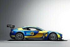 24 h Nürburgring - Aston Martin im Bilstein-Design