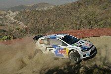 WRC - Zwei kurze Sonderpr�fungen: Ogier liegt in Mexiko in F�hrung