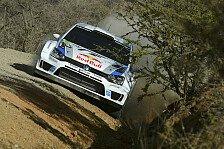 WRC - Geschlossenes Tor auf der Strecke: Mexiko: Ogier verliert viel Zeit, bleibt aber vorn