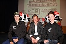Moto3 - Miller, McPhee und Kappler: Teampr�sentation Caretta Technology-RTG