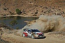 WRC - Performanceschwund, Steine und Strafzeiten: Citroen mit Freitag nicht zufrieden