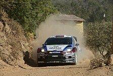 WRC - Reifenschaden bremst �stberg ein: M-Sport mit drei Fahrern vorne dabei