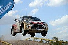 WRC - Powerverlust als Vorteil: �stberg: Wir sind konkurrenzf�hig