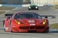 USCC - Alex-Job-Porsche wohl reparabel: Nach Unfall: Risi-Ferrari muss aussetzen