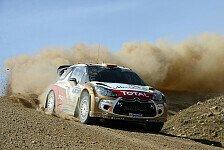 WRC - Drei DS3 am Start: Citroen in Vollbesetzung nach Portugal